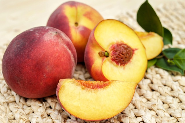 is it safe for sugar gliders to eat peaches